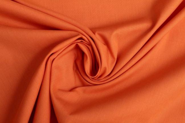 Bavlněné plátno v oranžové barvě 03121/036