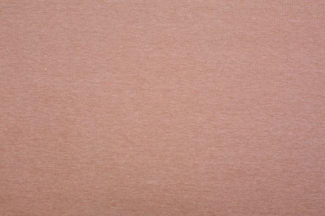 Strečový úplet světle hnědý melír 07700/052