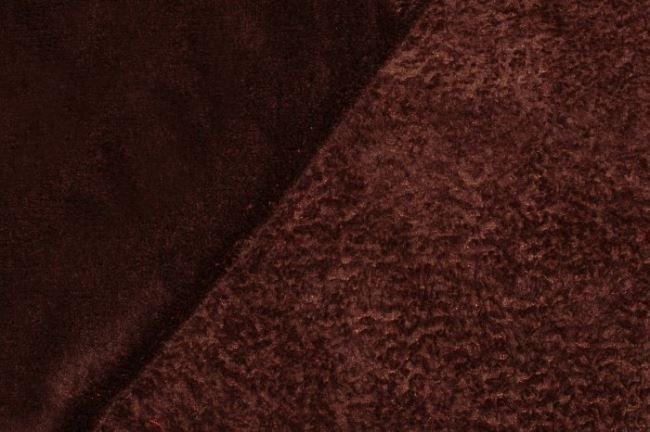Wellness fleece v hnědé barvě 5358/058