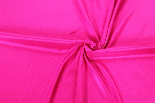 Taft sytě růžový 0420/870