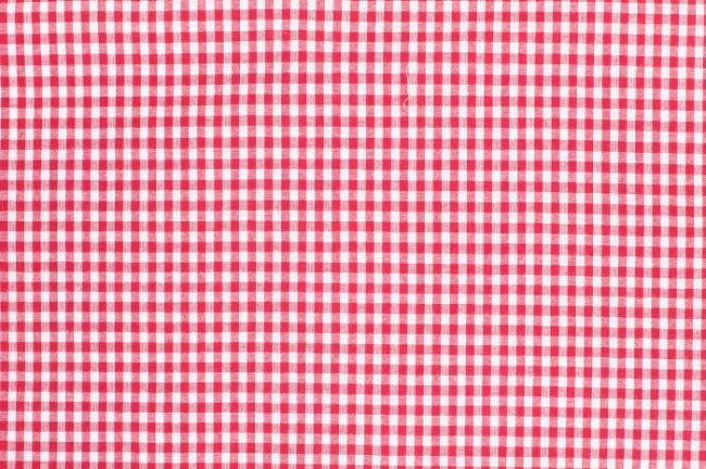 Červená bavlněná kostka 05582/015