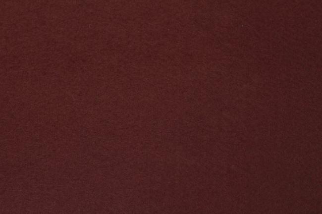 Filc v čokoládové barvě 07071/055