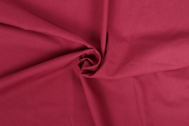 Bavlněné plátno v barvě bordó 01805/018
