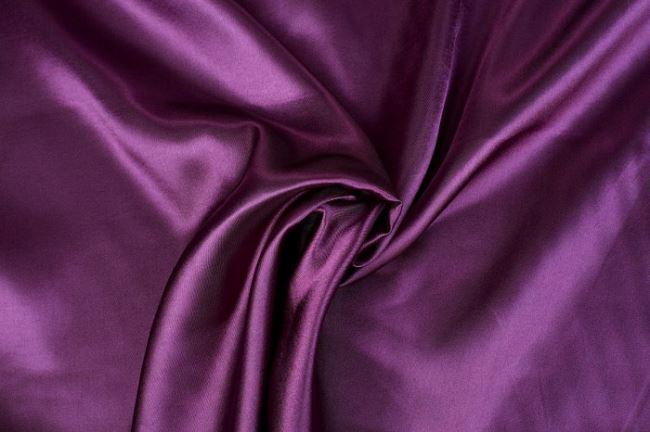 Satén ve fialové barvě 0141/805
