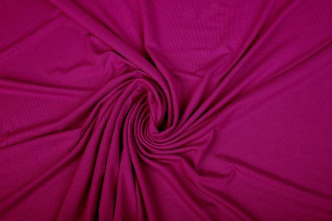 Viskózový úplet v sytě fialové barvě 02194/042