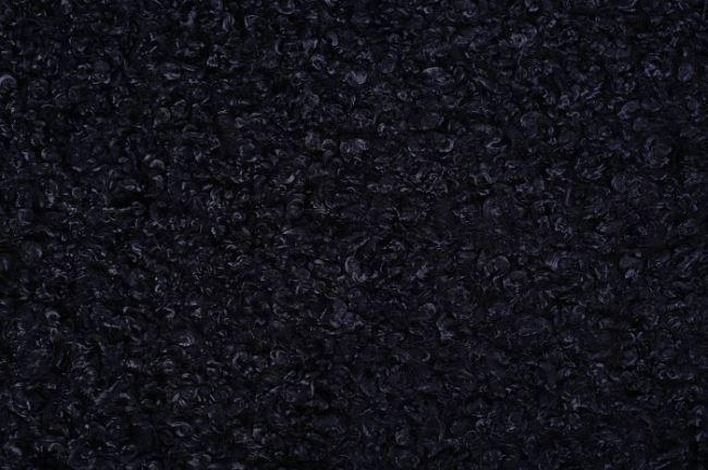 Kožešina v tmavě modré barvě 12116/605