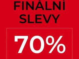 SLEVY AŽ -70% JSOU TADY!