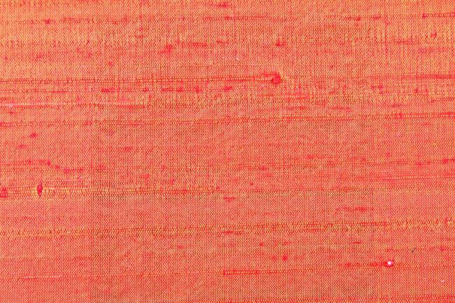 Hedvábí dupion silk oranžové 04797/036