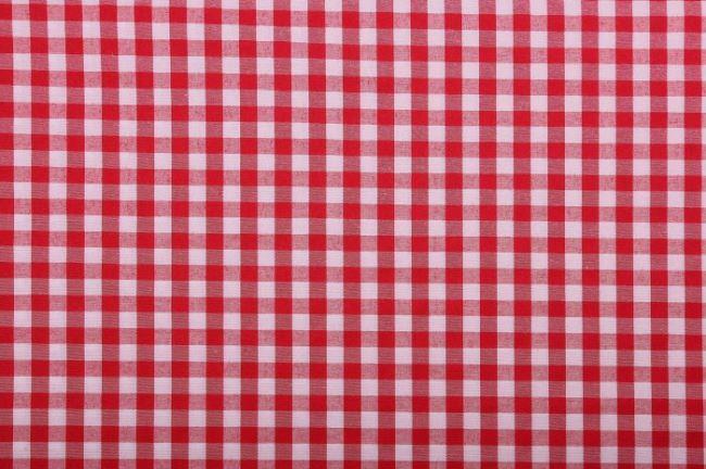Bavlněná látka s tkaným vzorem kostky 0317/425