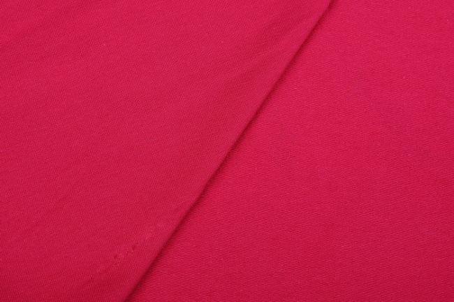 Teplákovina French Terry v tmavě fuchsiové barvě 02775/117