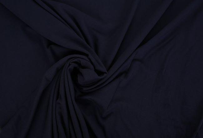 Viskózový úplet tmavě modré barvy 02194/308