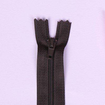 Spirálový zip tmavě hnědý 20cm I-3C0-302