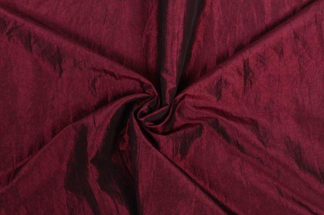 Taft krešovaný tmavě růžový 05516/018