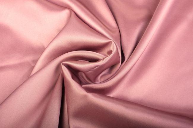 Pružné hedvábí ve starorůžové barvě 605692/5017
