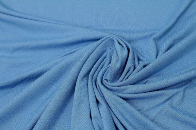 Viskózový úplet modrý 02194/005