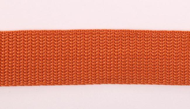 Popruh cihlové barvy 30 mm I-TN0-30-283