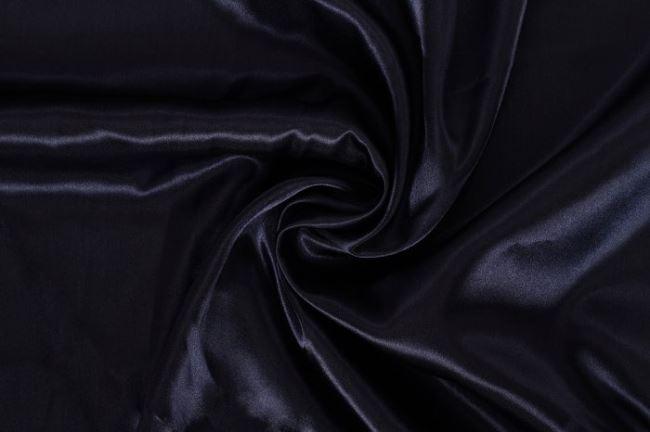 Satén tmavě modrý 04796/008