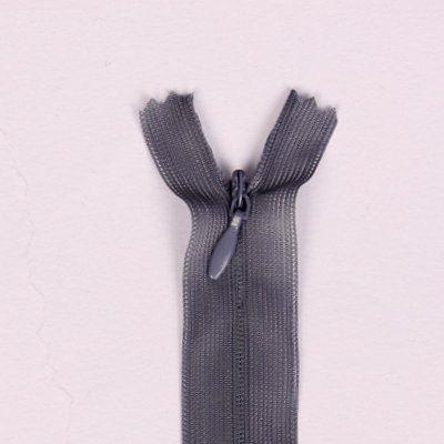 Skrytý zip tmavě šedý 35cm I-3W0-35-312