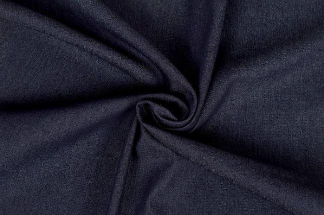 Praná riflovina v tmavě modré barvě 03987/008