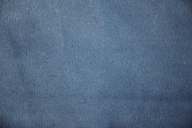 Kožešina s leskem v modré barvě 7214/006