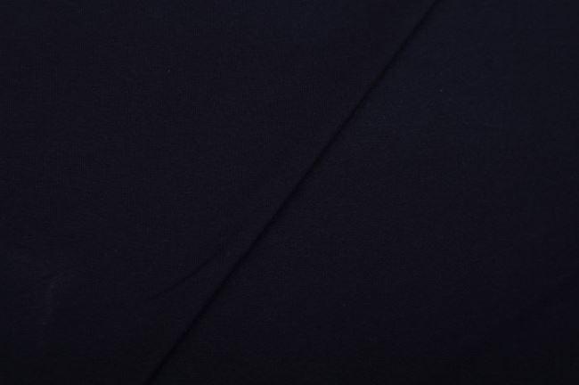 Teplákovina French Terry v tmavě modré barvě 02775/008