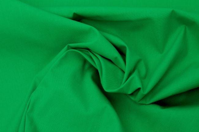Bavlněné plátno v zelené barvě 03121/125