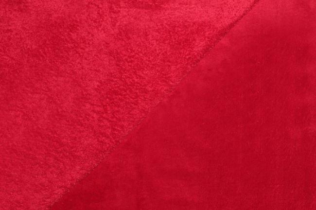 Wellness fleece v červené barvě 5358/015