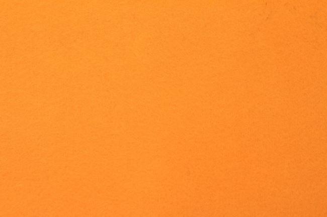 Filc v oranžové barvě 07071/037