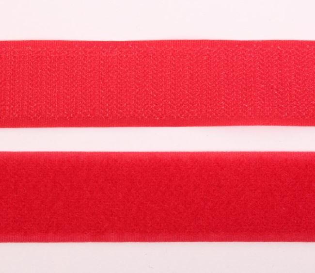 Suchý zip 30 mm v červené barvě I-TR0-30-330