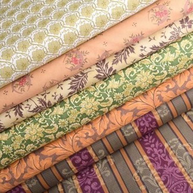 Kolekce patchwork látek pro milovníky tvoření.