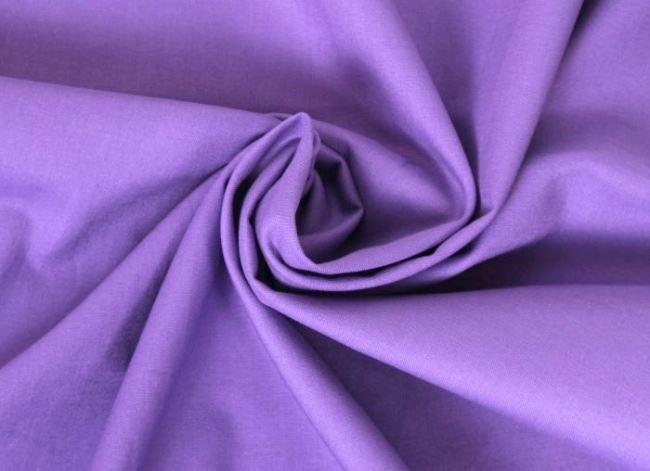 Bavlněné plátno ve světle fialové barvě 01805/042