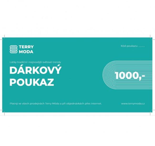Dárkový poukaz v hodnotě 1000,-Kč DAR2