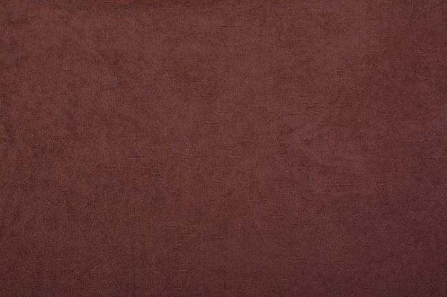 Samet v hnědé barvě 08800/056