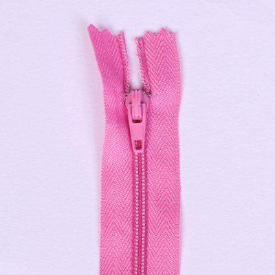 Spirálový zip růžové barvy 20cm I-3C0-141