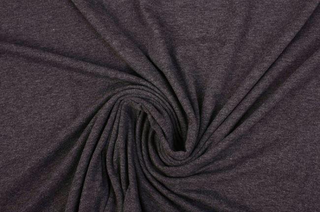 Viskózový úplet v šedém melíru 02195/268