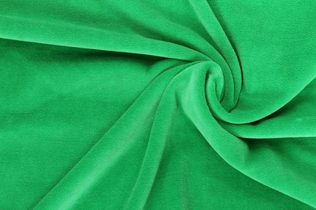 Nicky velour sytě zelený 0173/300