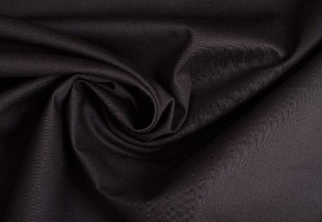 Bavlněný kepr v tmavě šedé barvě 02888/068
