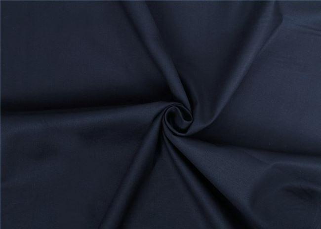 Tmavě modré bavlněné plátno 01805/008