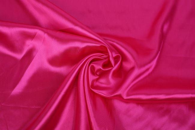 Saténová podšívka ve fuchsiové barvě 06854/017