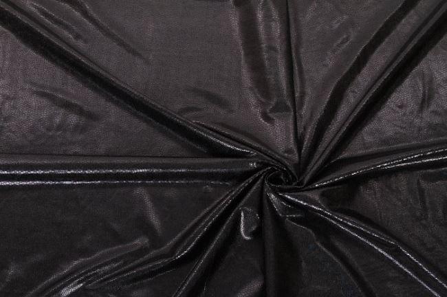 Černé lamé vzorované 02213/069