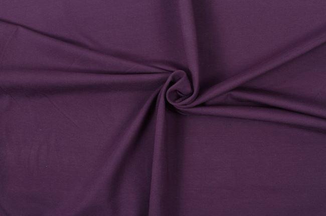 Bavlněný úplet fialový 05438/045