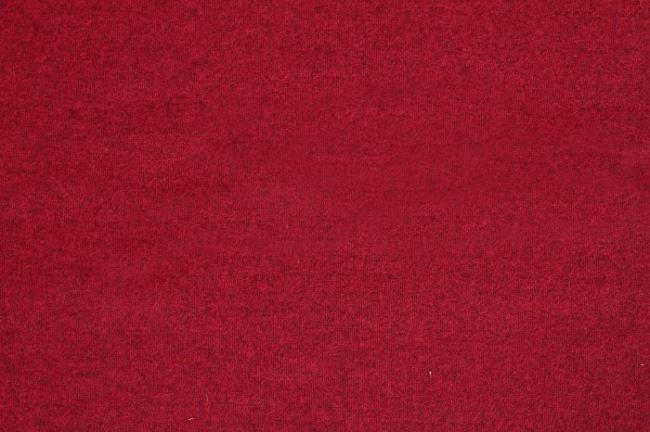 Vařená vlna v červené barvě 00669/015