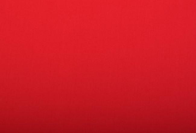 Strečová bavlna červené barvy 2858/015