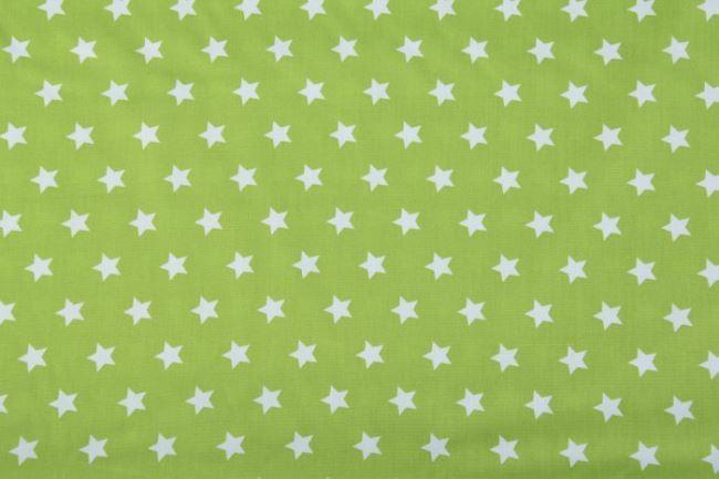 Bavlna - zelené hvězdy 05571/024