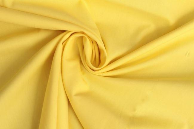 Bavlněné plátno ve žluté barvě 03121/035