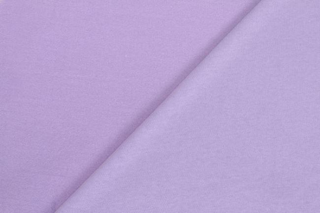 Počesaná teplákovina světle fialová 05650/043
