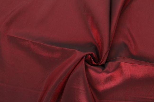 Taft tmavě červený 0420/405