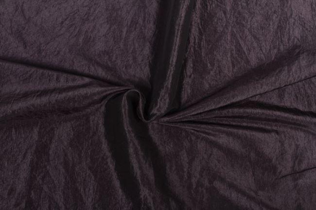 Taft krešovaný tmavě šedý 05516/068