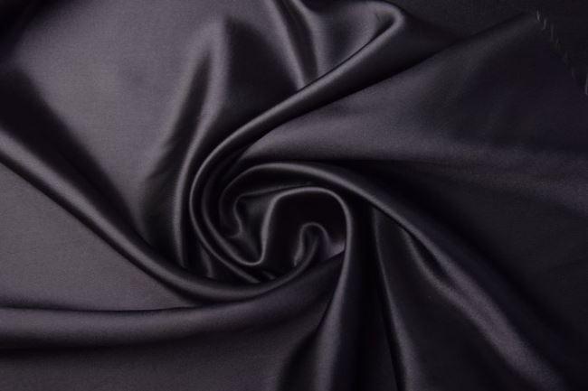 Satén tmavě šedý 0141/980