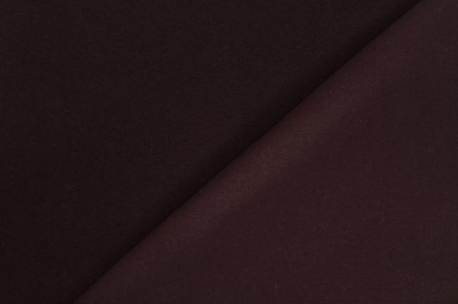 Teplákvina počesaná tmavě hnědá 05650/058